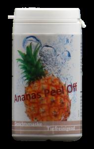 Ananas Peel Off Gesichtsmaske - tiefenreinigend (Größe: 4 x 25 Gramm)