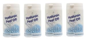Hyaluron Peel Off Gesichtsmaske (Größe: 4 x 25g)
