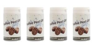Kaffee Peel Off Gesichtsmaske (Größe: 4 x 25g)