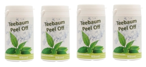 Teebaum Peel Off Gesichtsmaske (Größe: 4 x 25g)