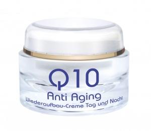 Q10 Anti-Aging Wiederaufbau Creme - Pflege für Tag und Nacht (Größe: 250 ml)