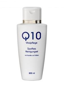 Q10 Sanftes Reinigungsgel mit Kamille und Salbei (200 ml)