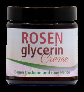 Rosenglycerin-Handcreme gegen raue Hände (100 ml)