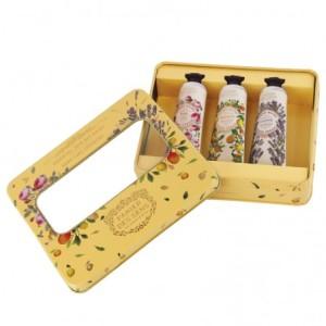 3er Set Handcreme in Metallbox (3 x 30 ml)