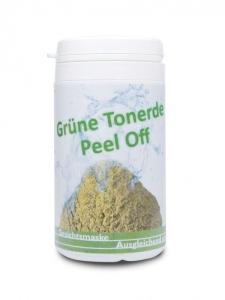 Grüne Tonerde Peel Off Maske (Größe: 4 x 25g)