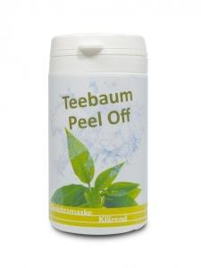 Teebaum Peel Off Maske (Größe: 4 x 25g)