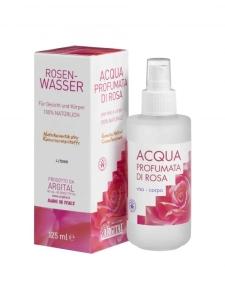 Rosen-Wasser für Gesicht und Körper (125 ml)