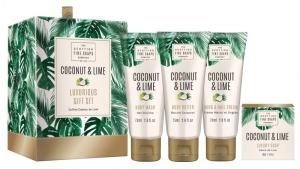 Luxuriöses Geschenkset Coconut & Lime