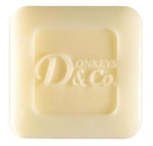 Seife aus Eselsmilch Donkey (25g) (Seife aus Eselmilch Donkey: 4 x Tonerde / Petitgrainöl je 25 Gramm)