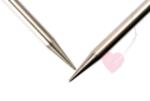 ChiaoGoo - 1 Paar Nadelspitzen 13cm aus Edelstahl MINI (Nadelstärke: 1,75mm)