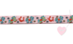 Janeas World Webband - Pony Lou 15mm (Farbe: rosa)