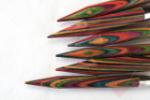 KnitPro - kurze Nadelspitzen aus Symfonie-Holz für Wechselsystem (Nadelstärke: 5,50mm)