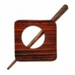 KnitPro Tuchnadel Exotica Carnation aus Holz