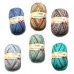 Ferner Wolle Lungauer Sockenwolle 6-fach 2018 (Farbe: regenbogen)