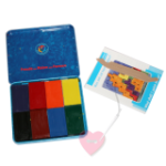Stockmar Wachsmalblöcke in der Schachtel 8,12,16 oder 24 Farben im Set (Set: Kartonetui 12 Blöcke)