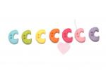 Buchstabenhits für Kids 18mm - 2-Loch Knopf C (Farbe: grün)