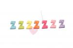 Buchstabenhits für Kids 18mm - 2-Loch Knopf Z (Farbe: grün)