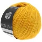 Lana Grossa Ecopuno - weiches Ganzjahresgarn mit feinem Flaum (Farbe: saphirblau (Fb.11))