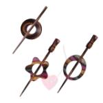 KnitPro Tuchnadel Symfonie Lilac - in 8 schönen Formen (Farbe: Electra)