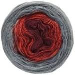 Lana Grossa Shades of Merino Cotton - Merinogarn mit Farbverlauf (Farbe: 401 Mintgrün/Türkis/Royalblau/Smaragd)