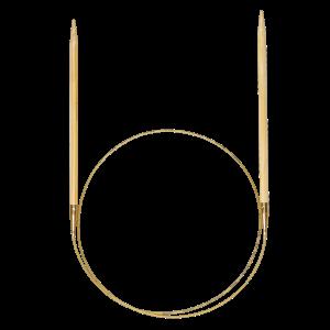 addi Rundstricknadeln 80cm aus Bambus (Stärke: 2,50mm)