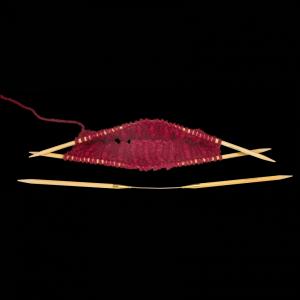 Addi CraSy Trio Bamboo LONG  30cm lang aus Bambus (Größe: Nadelstärke 5mm)