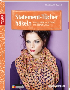 Buch - Statement-Tücher häkeln von Magdalena Melzer