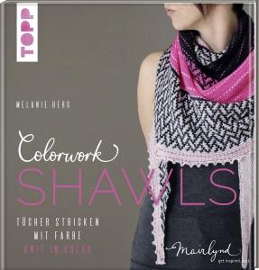 Buch - Colorwork Shawls von Melanie Berg
