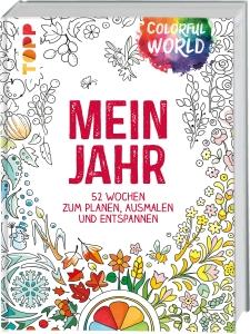 Kalender Colorful World - Mein Jahr von Ursula Schwab