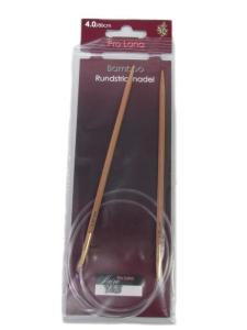 Pro Lana Rundstricknadeln 80cm aus Bambus (Stärke: 3,00mm)