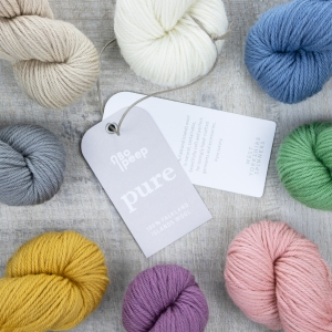 West Yorkshire Spinners Bo Peep Pure DK (Farbe: natural (010))