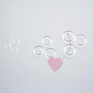 Transparente Kunststoffringe zum umhäkeln (Größe: ø 26mm)