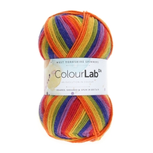 West Yorkshire Spinners ColourLab DK Striped Prints (Farbe: Technicolour (891))