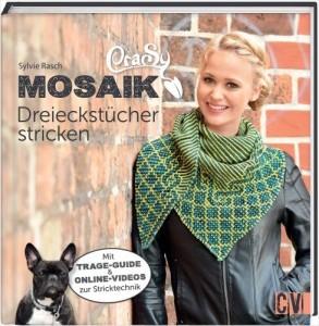 Buch - CraSy Mosaik Dreieckstücher stricken von Sylvie Rasch