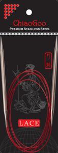 ChiaoGoo Rundstricknadel RED LACE mit Edelstahlspitzen 150cm lang (Stärke: 2,75mm)