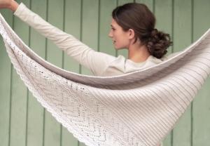 Rosy Green Wool Anleitung - Tuch Delightful von Matilda Kruse