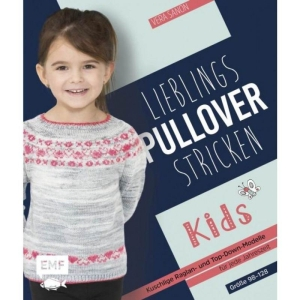 Buch - Lieblings-Pullover Stricken Kids von Vera Sanon