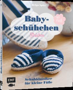 Buch - Babyschühchen Tick stricken von Helga Spitz