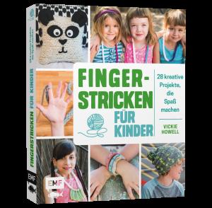 Buch - Fingerstricken für Kinder von Vickie Howell