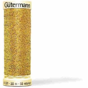 Gütermann Metalleffekt-Faden W 331 50m (Farbe: 036 kupfer)