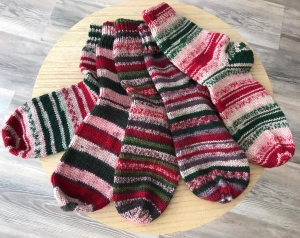 Ferner Wolle Mally Socks 6-fach Sockengarn Weihnachts Editition 2020 (Farbe: 21.12.20)