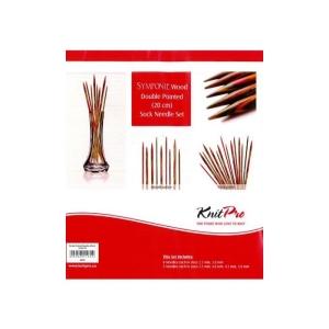 KnitPro - Symfonie Holz Nadelspiel-Set 20cm