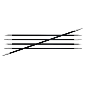 KnitPro - Karbonz Nadelspiel 15cm (Nadelstärke: 1,00mm)