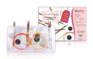 KnitPro Symfonie Starter Set - mit Seilen und Nadeln aus Symfonie-Holz