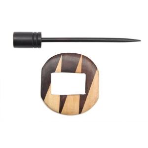 KnitPro Tuchnadel Exotica Valerian aus Holz