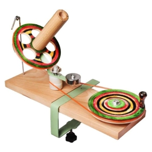 KnitPro Wollwickler Signature aus Holz bunt