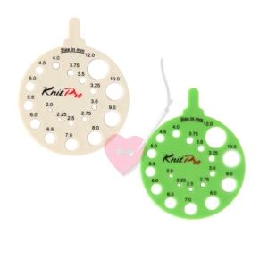 KnitPro - rundes Nadelmaß envy oder ivy (Farbe: elfenbein)