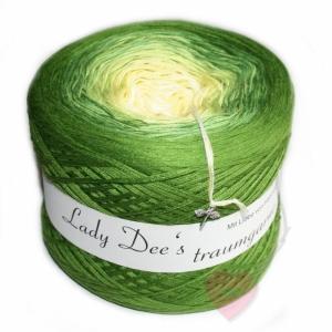 Lady Dee´s Traumgarn 4-fädig Limettchen 250g