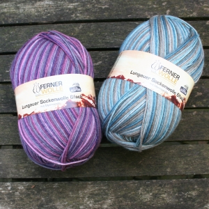 Ferner Wolle Lungauer Sockenwolle 6-fach 2020 (Farbe: Lilatöne (355))
