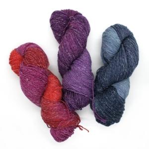 Lieblingsschaf - MerinoAlpaka Socke (Farbe: Hagebutte)
